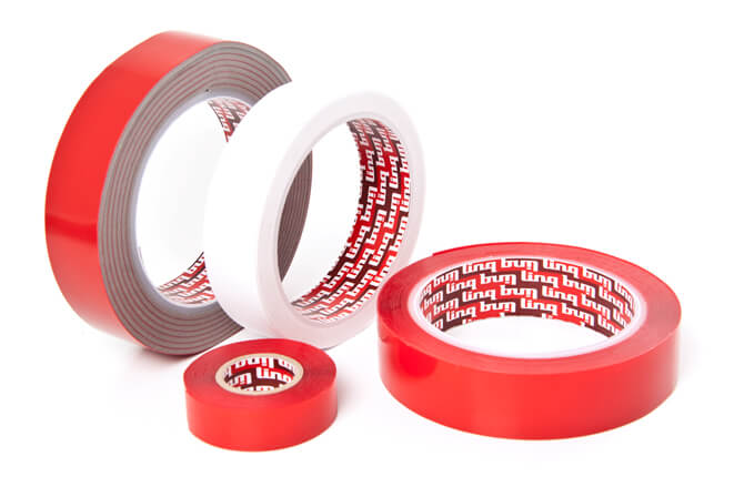 Difficult surface adhesive tapes